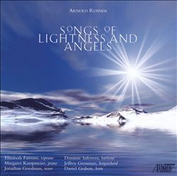 Songs of Lightness and Angels CD Cover